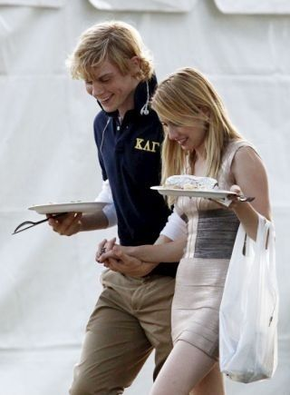 Emma Roberts and Evan Peters Looking Super Cozy After Domestic Dispute...