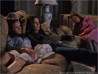 Favorite mother/daughter relationship: Emily, Lorelai, and Rory Gilmore (Day Twenty-Five)   Sliver of Ice