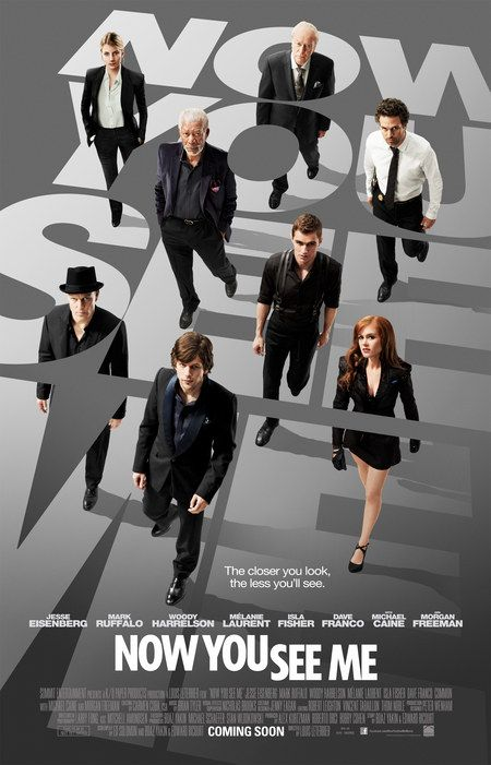 Now You See Me: a fun presentation can carry a movie through, but not hide, some significant plot weaknesses