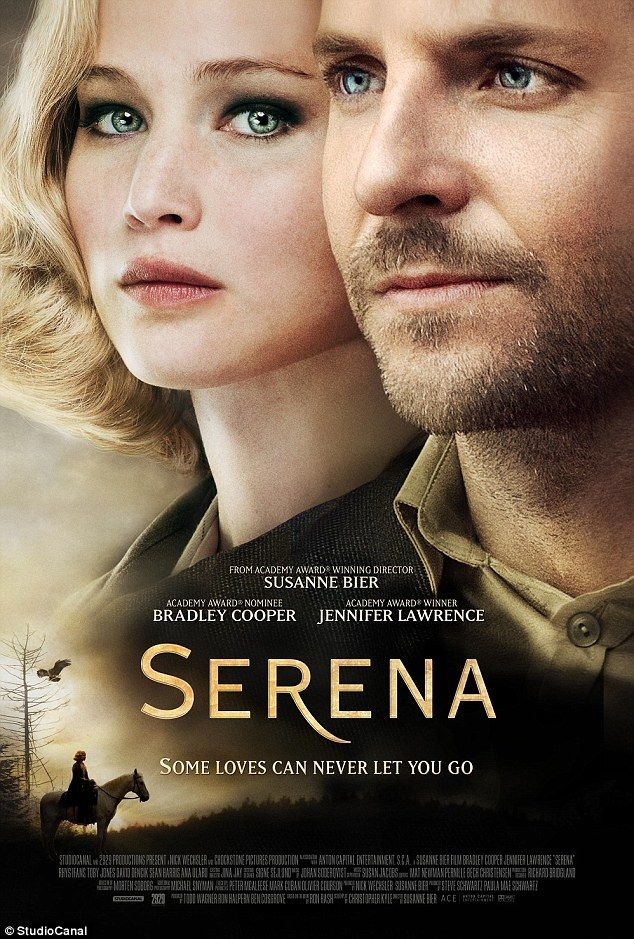 Bradley Cooper and Jennifer Lawrence star in first joint Serena poster