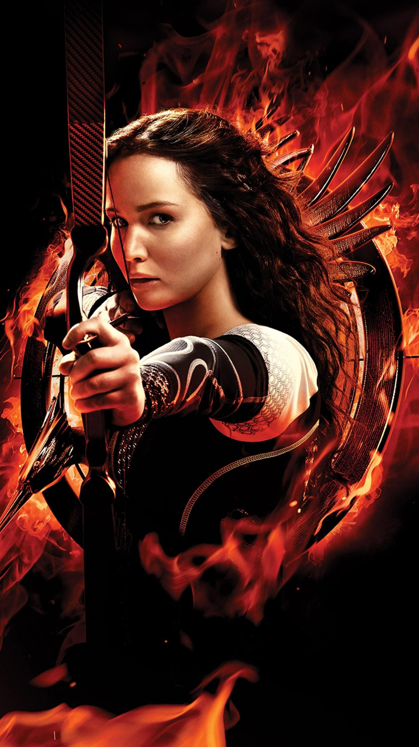 The Hunger Games: Catching Fire (2013) Phone Wallpaper   Moviemania
